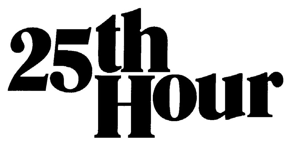 25th Hour Logo